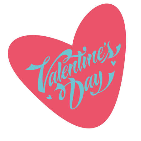 swashes: Valentines day lettering