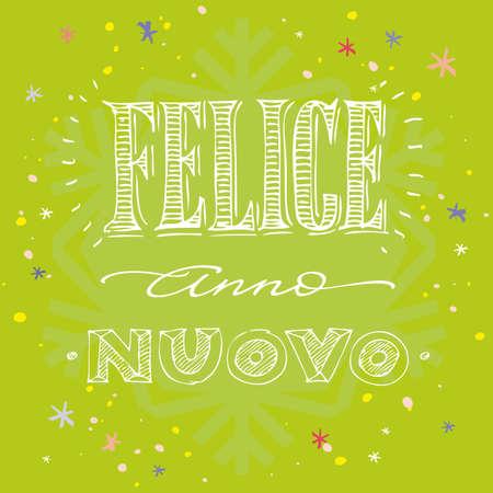 anno: FELICE ANNO NUOVO