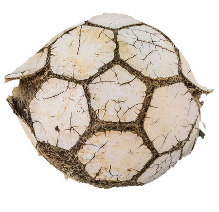 old lack yarn ball pentagonal photo