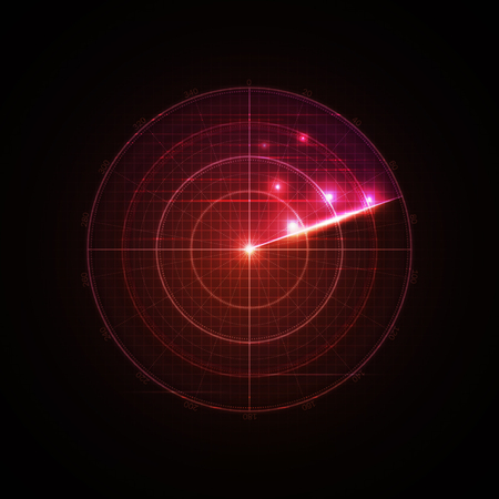 blip: Realistic vector radar in searching . Air search .