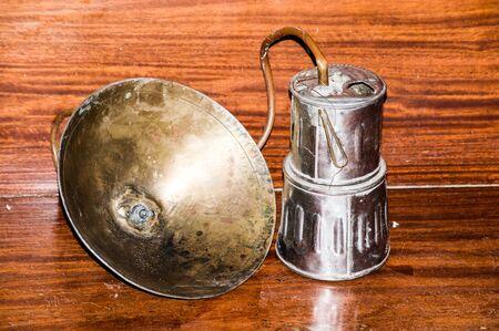 an antique: Antique lamps