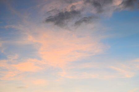 evening sky: evening sky