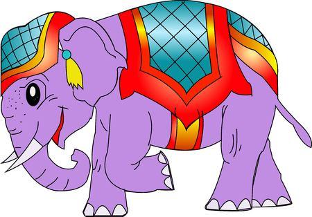 vecter: Elephant Illustration