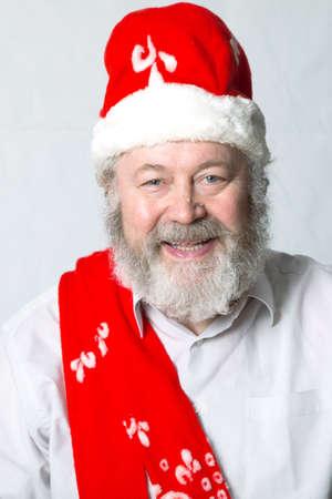 pleased: Santa Claus is very pleased