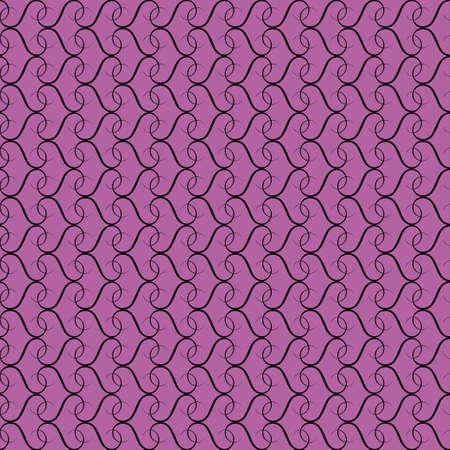 radiant: Radiant orchid seamless vintage pattern