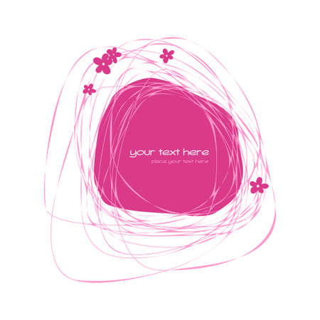 awry: Abstract pink frame