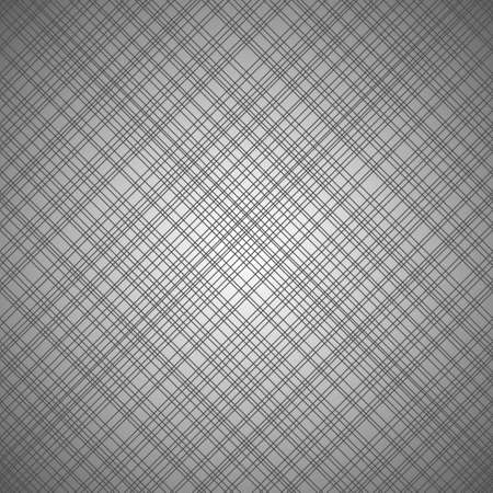 Vector seamless gray pattern with cross lines Ilustracja