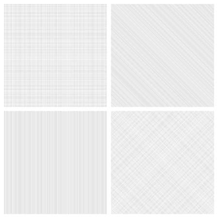 cross light: Set of vector seamless monochrome hatch patterns