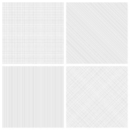 Set of vector seamless monochrome hatch patterns