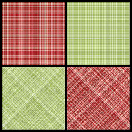 hatch:  set of red and green seamless hatch patterns