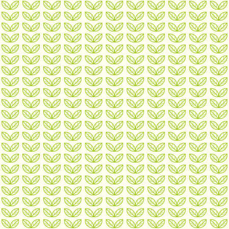 green tea leaves: Seamless light pattern with green tea leaves