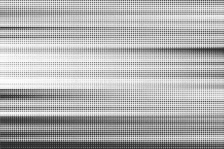 white wave: Striped halftone background Illustration
