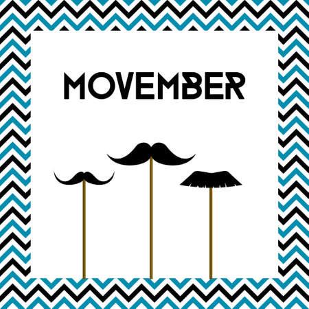 Movember banner.