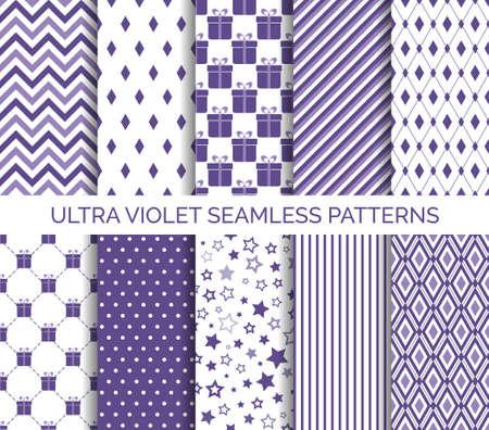 Ultra violet color patterns.