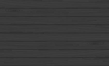 Vector wooden planks background. Dark wood texture