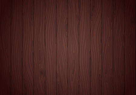 Wenge wood vector texture. Grained planks background