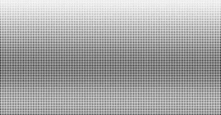 Halftone vector background. Gradient dotted grunge monochrome template