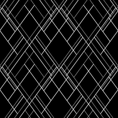 Hatch seamless vector pattern. Dark abstract decorative background