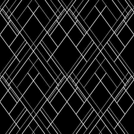 Hatch seamless vector pattern. Dark abstract decorative background