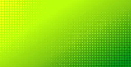 Abstract green gradient halftone background. Natural color vector backdrop. Template for flyer, banner design  イラスト・ベクター素材