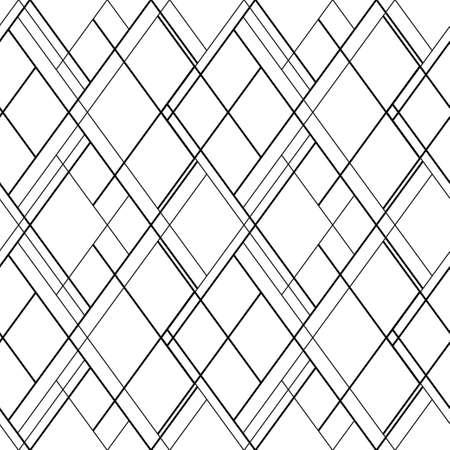 Patrón transparente de vector de líneas cruzadas. Escotilla de fondo. Diseño de papel tapiz escandinavo Ilustración de vector
