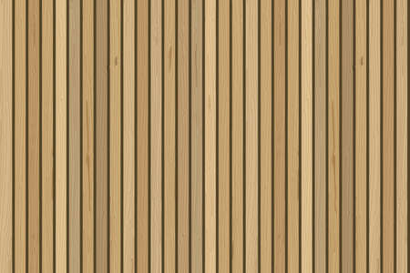 Vertical wood planks wall. Vector wooden background. For contemporary interior design Ilustracja