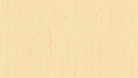 Light wood texture. Vector wooden background. Hand drawn natural grained pattern Ilustracja