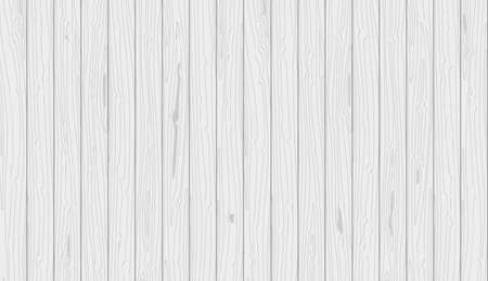 Gray wooden planks background. Vector natural textured backdrop for flat lay composition