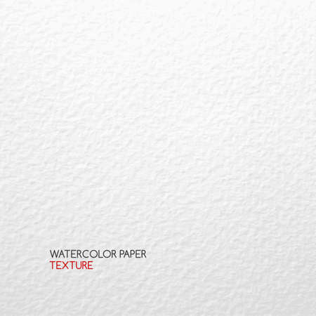 Watercolor paper texture. Vector textured abstract white background 矢量图像