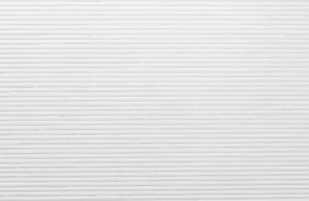 Striped embossed paper texture. Vector abstract white background with horizontal lines