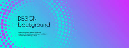 Abstract colorful gradient banner vector template. Minimal background with copy space for text. Social media header
