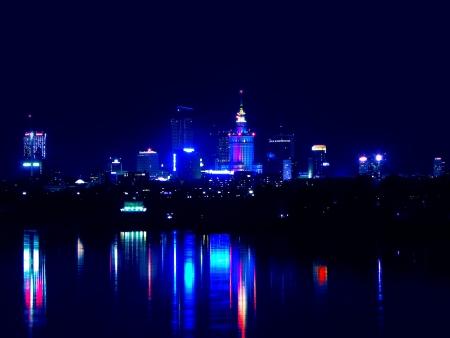 warsaw: Warsaw by night