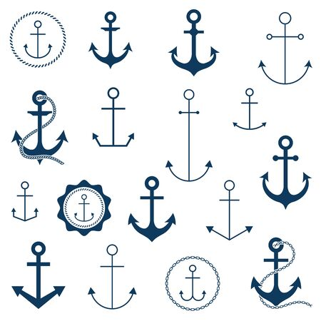 seafaring: Anchor set.