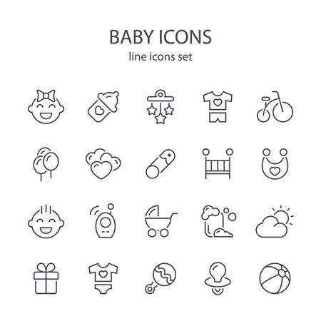 Baby icons.