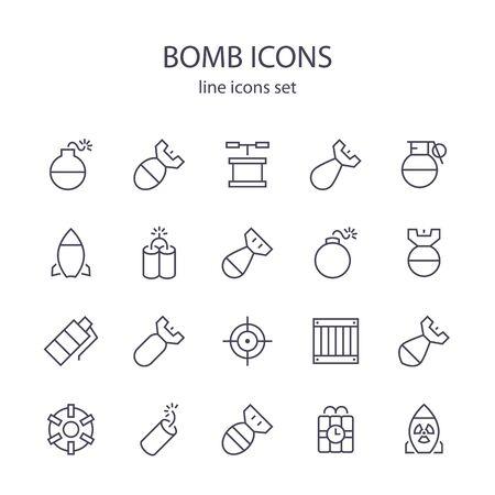 폭탄 아이콘.