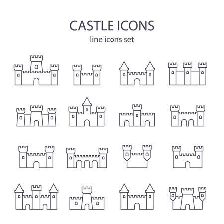 Castle icons.