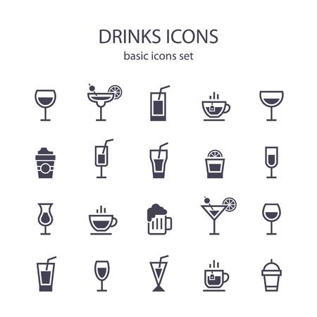 음료 아이콘.