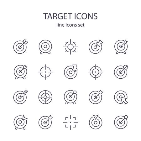 Target icons.