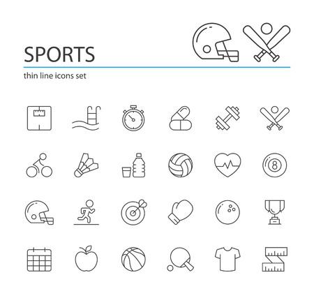 스포츠 아이콘입니다. 일러스트