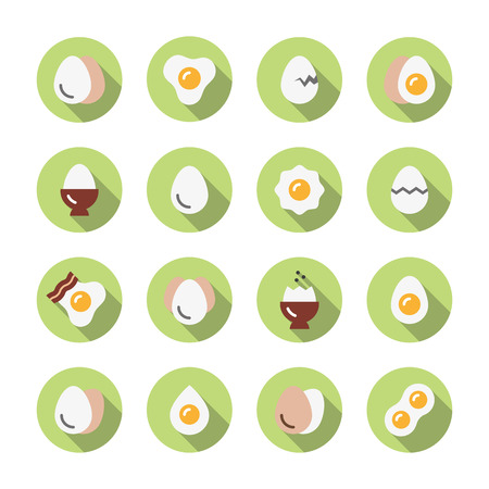 icons: Eggs icons.