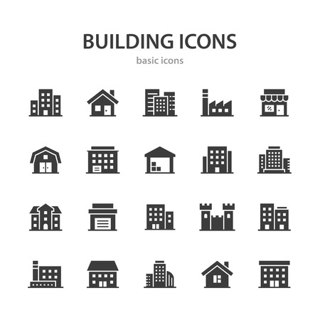 Building icons.