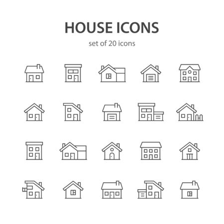 House line icons.
