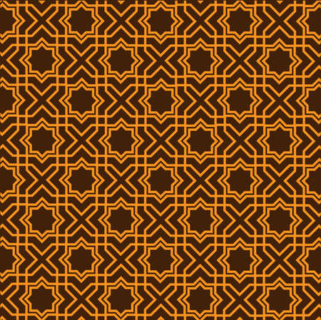 Seamless of Islamic geometric pattern Stock Vector - 10311841