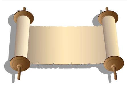 Oude scroll Stockfoto - 10636848