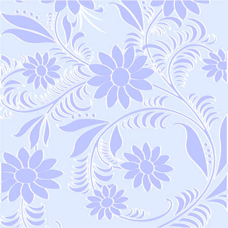 textile image: Retro seamless  floral pattern