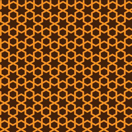 islamic pattern: Geometric Islamic ornament.Seamless vector. Illustration