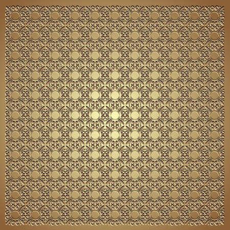 persian art: Gold emboss.