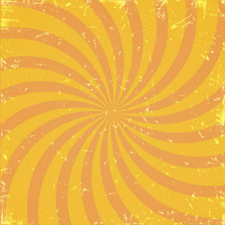 Grunge orange spiral  background.Vector eps10  Vector