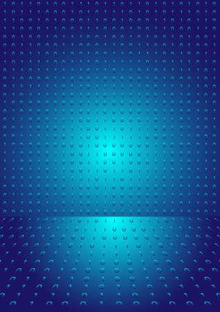 Abstract matrix code. Stock Vector - 12072050