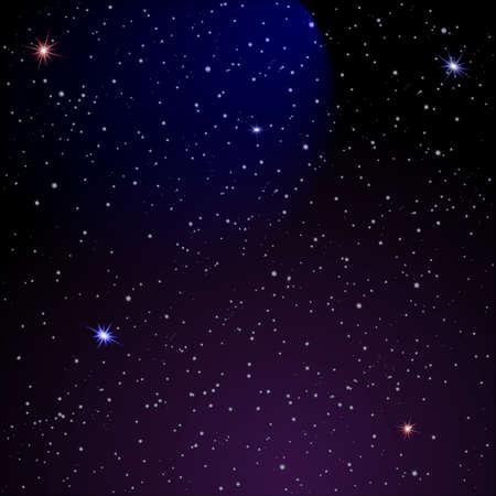 noche estrellada: De fondo Espacio Abstracto.